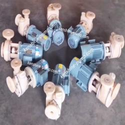 PVDF chemical self priming pump