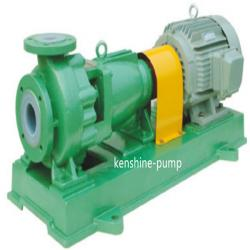 IHF single stage end suction fluoroplastic liner pump