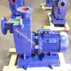 ZWL self priming sewage wastewater pump