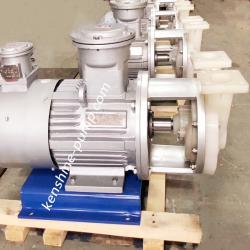 VSP fluoroplastic strong self priming pump