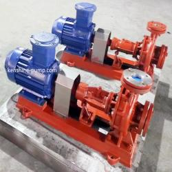 RY high temperature hot oil centrifugal pump