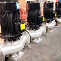 IHG Stainless steel chemical centrifugal pump