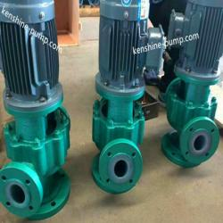 IGF fluoroplastic lining pipeline chemical pump
