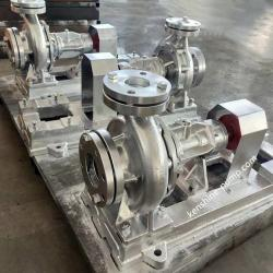 RY energy saving high temperature centrifugal hot oil pump