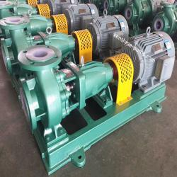 IHF fluoroplastic FEP lining chemical pump