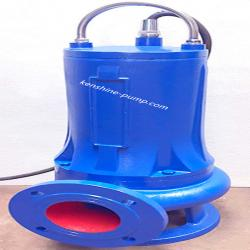 WQAS submersible sewage pump with semi-open spiral cutting impeller