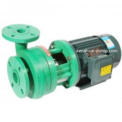 Polypropylene plastic centrifugal chemical transfer pump