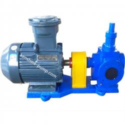 YCB circle arc gear oil transfer booster pump