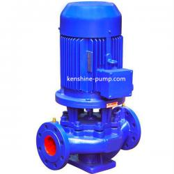 ISG inline pipeline booster circulation transfer vertical pump