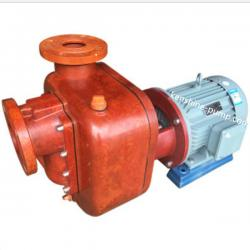 SZ fiberglass plastic self priming chemical transfer pump