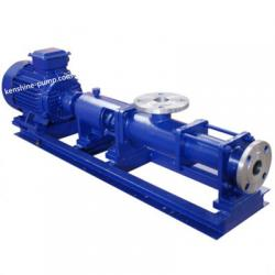G Single screw rotor slurry sewage pump