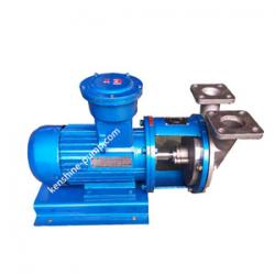 VSP high vacuum self priming chemical pump