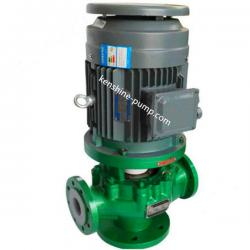 GDF Vertical pipeline centrifugal fluoroplastic liner chemical pump