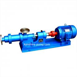 1-1B single screw thick slurry pump