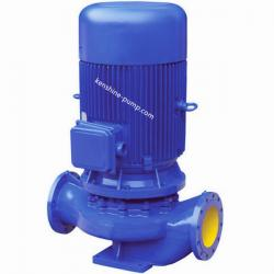 IRG Vertical pipeline centrifugal hot water circulating booster pump