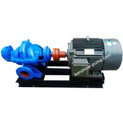 S,SH horizontal double suction centrifugal split case pump