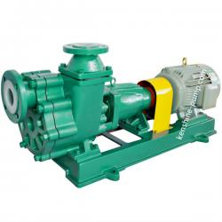 FZB-L Steel lined fluoroplastic self-priming pump