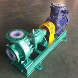 fluoroplastic-lined anticorrosive centrifugal pump