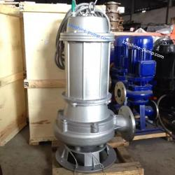 WQ Sewage submersible wastewater treatment pump