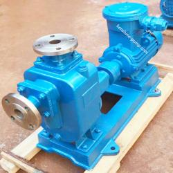 ZW horizontal centrifugal self-priming sewage pump
