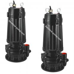 Sewage submersible electric pump with high head up 80m