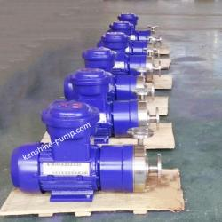 Magnetic driving centrifugal stainless steel pump