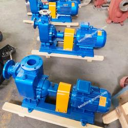 ZW horizontal sewage self-priming pump