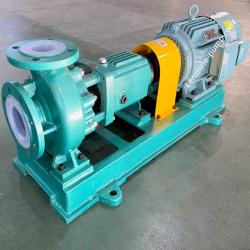 IHF fluoroplastic liner chemical acid transfer pump