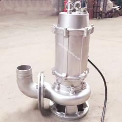 WQP stainless steel wastewater pump