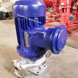 IHGB Vertical stainless steel explosion-proof pipeline centrifugal pump