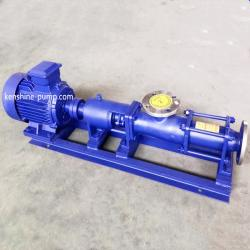 G Single screw eccentric rotor pump mono pump