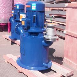 Stainless steel self priming vertical pump