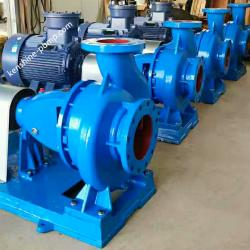 Horizontal end suction overhung centrifugal water pump