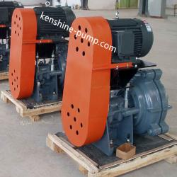AHR anticorrosion and abrasion resistant rubber lined slurry pump