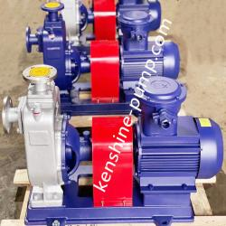 ZXPB Stainless steel explosion-proof self-priming chemical pump