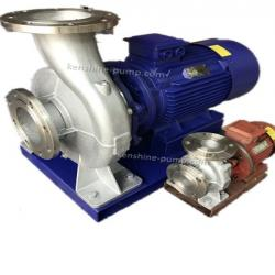 ISWH Series horizontal stainless steel centrifugal monoblock pump