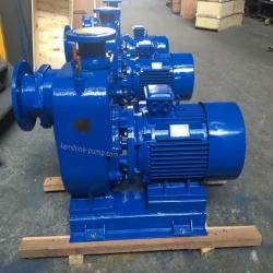 ZXL Series self priming centrifugal pump closed shaft coupling