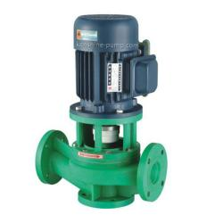 FPG Vertical reinforced polypropylene centrifugal pump