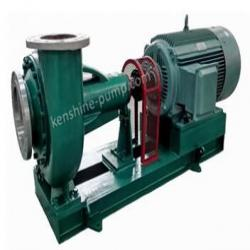 FBK chemical resistant centrifugal  pump  with semi open impeller