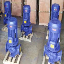 IRG Vertical pipeline hot water centrifugal circulation pump