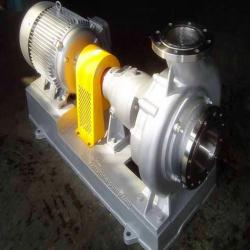CPN Not clogging chemical alkali pump with open impeller