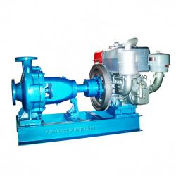 Diesel engine driving centrifugal water pump