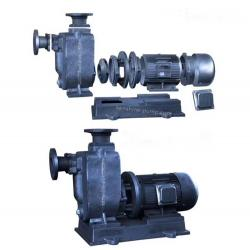 ZWL Self priming sewage pump with closed coupling