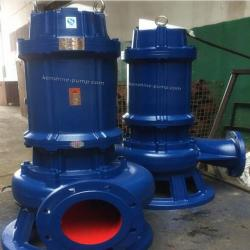 WQK Submersible sewage pump with cutting disc