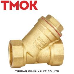 Full brass swing chrome plated Y pattern valve