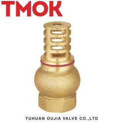Full brass swing chrome plated foot valve
