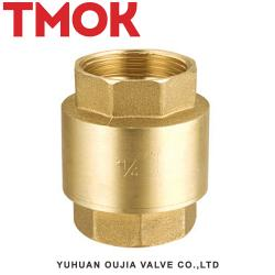 Full brass surface polishing swing female thread check valve