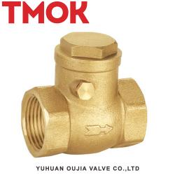 Full brass swing female thread check valve