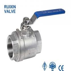 2pc ball valve BSP/NPT thread 1000WOG