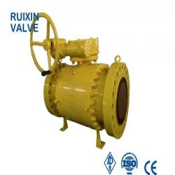 API6D Trunnion Mounted Ball Valve Forging Steel